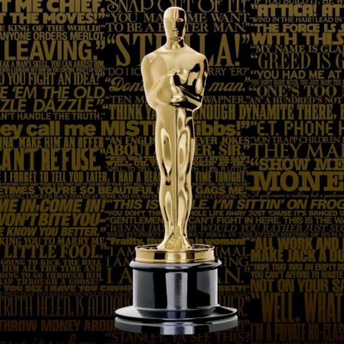 The dream of most screenwriters is to win the Oscar!