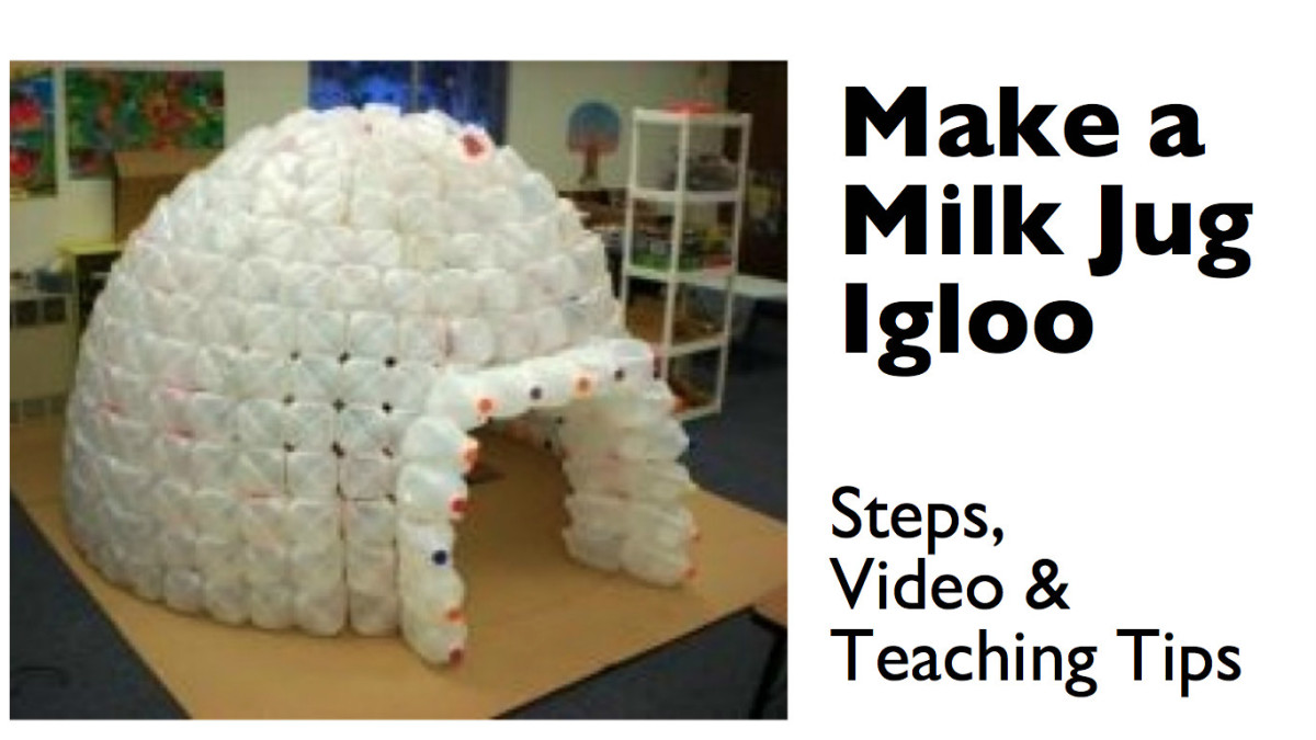 how to build a milk jug igloo hubpages