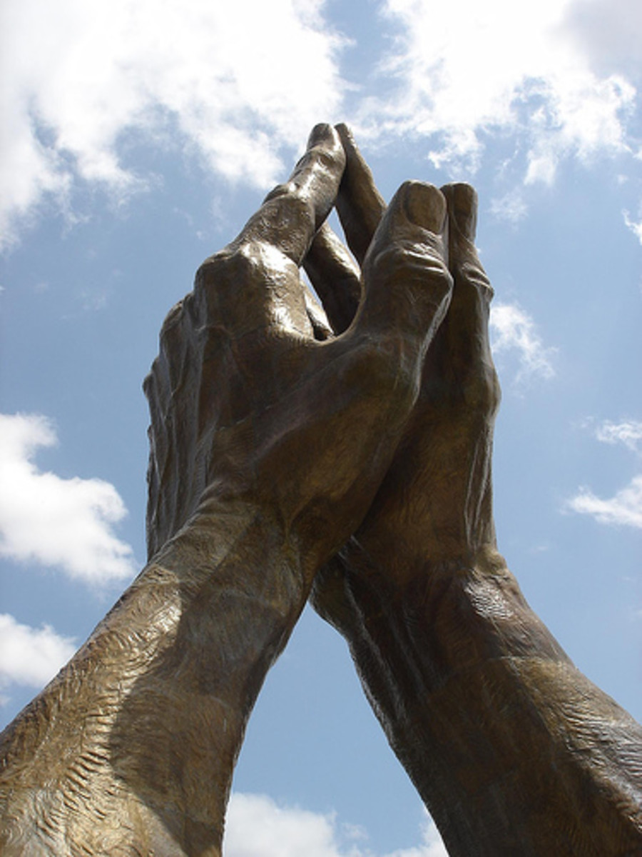 Tulsa Landmarks: Oral Roberts Praying Hands