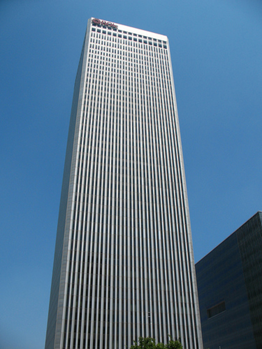 Tulsa Landmarks: The Williams Center Tower (BOK Tower)