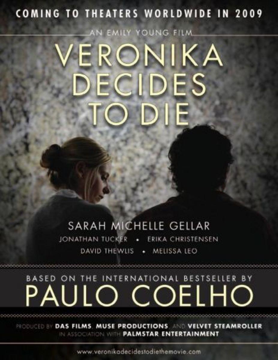 Veronika Decides To Die Film Starring Sarah Michelle Gellar as Veronika