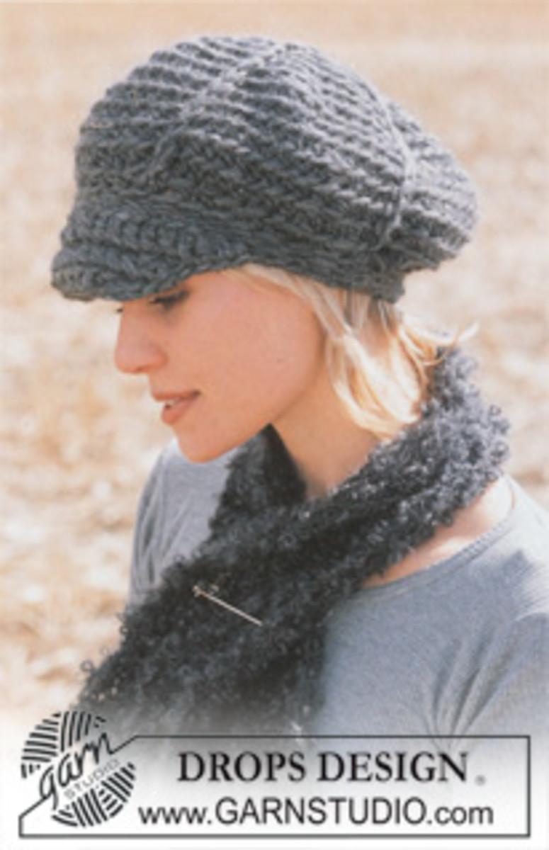 Free Crochet Pattern Newsboy Style Cap : KNIT DRIVING CAP PATTERN 1000 Free Patterns