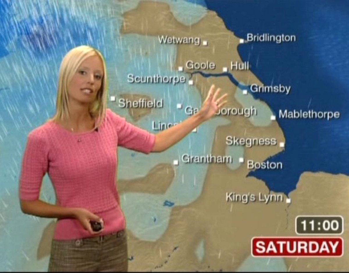 Lisa Gallagher weather girl of the north