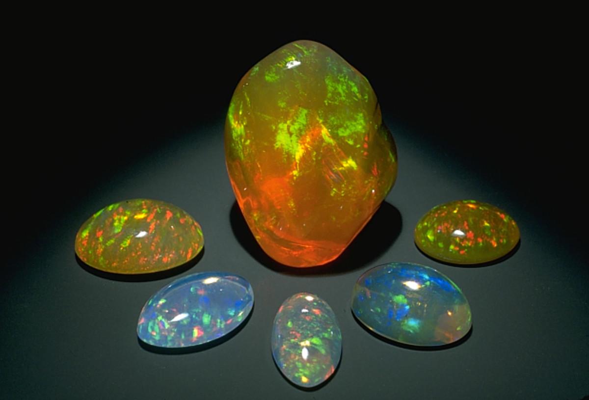 Mexican Fire Opals from earlham.edu