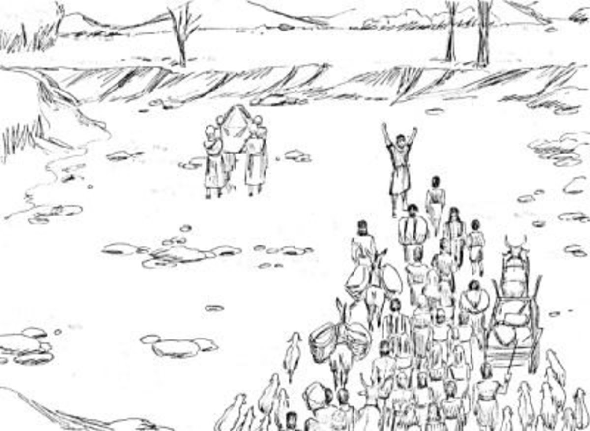 joshua and the walls of jericho coloring page 100 images moses