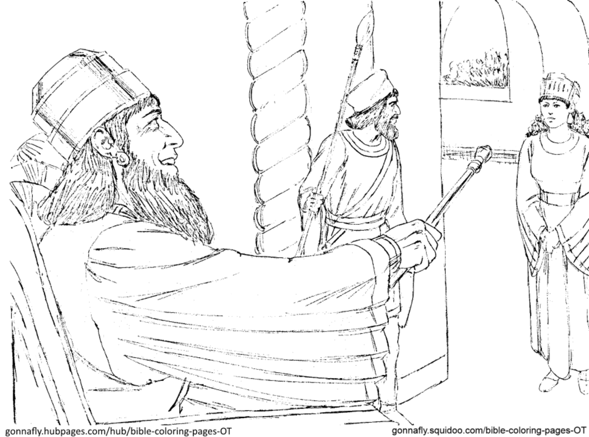 king jehu of israel coloring pages | Bible Coloring Pages - Old Testament