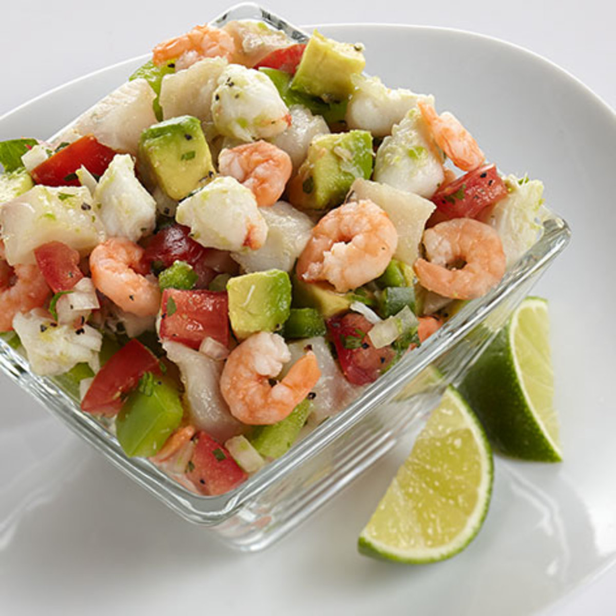 Ceviche is a gorgeous dish, and one that is acid based for incredible flavor.
