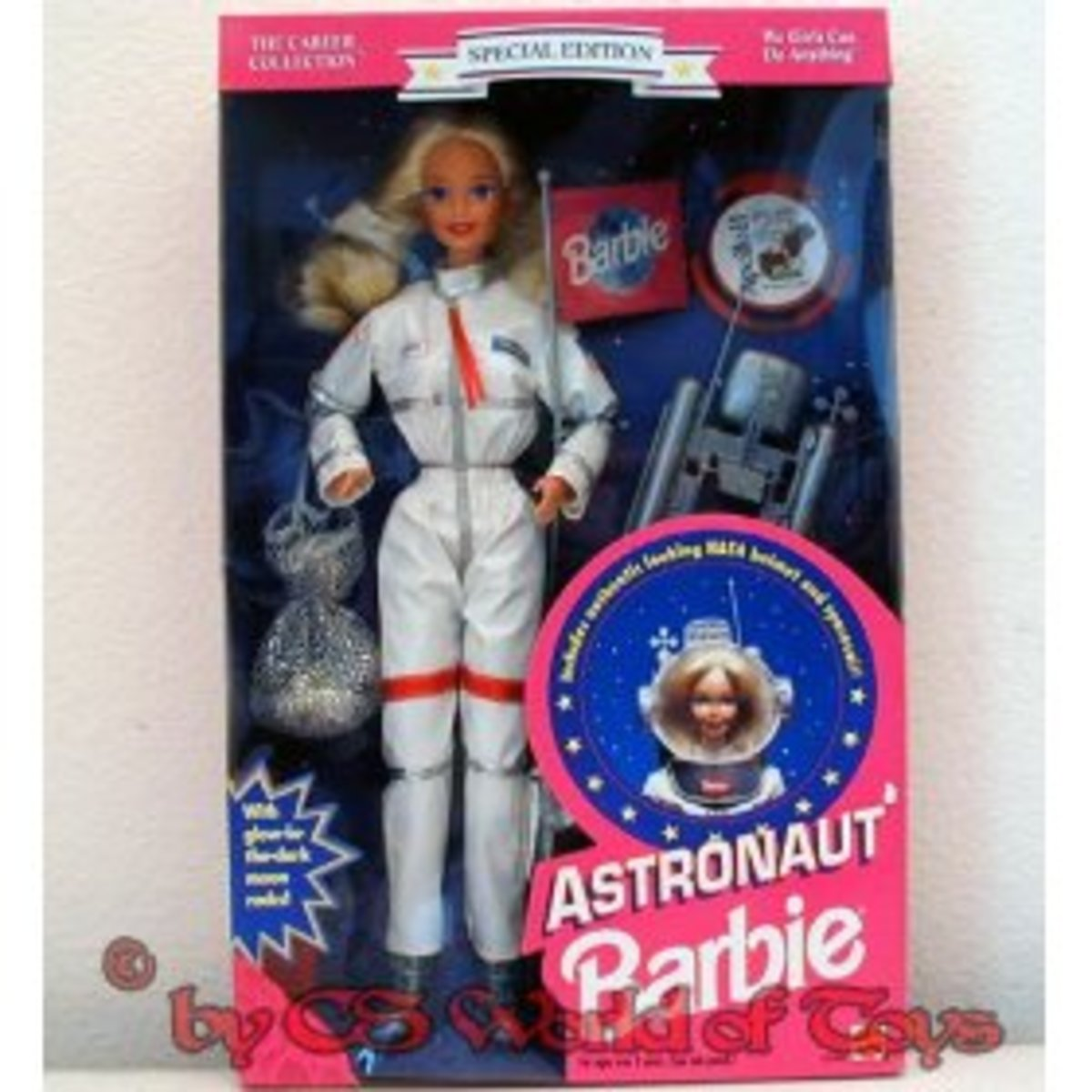 Astronaut Barbie from Amazon.com