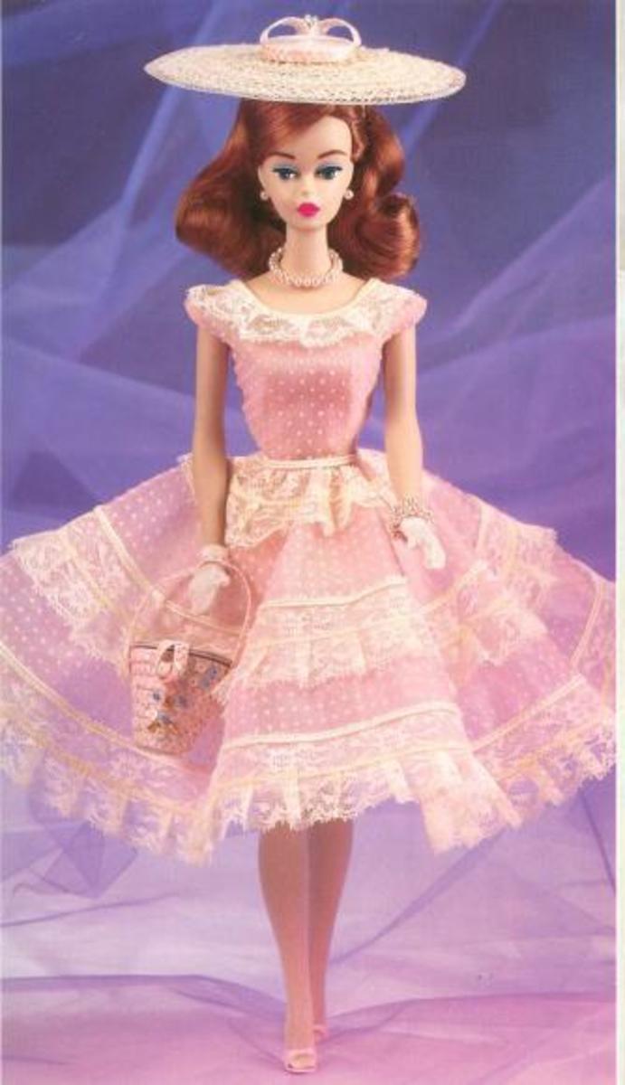 Plantation Belle Porcelain Barbie Doll