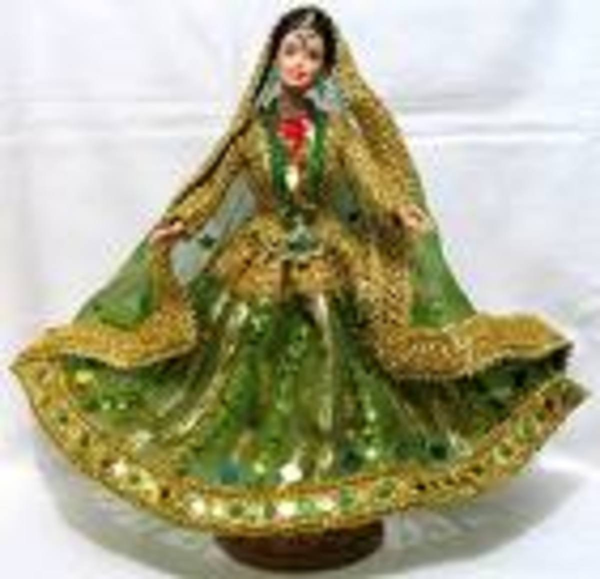 Indian Barbie Doll in Traditional Dress
