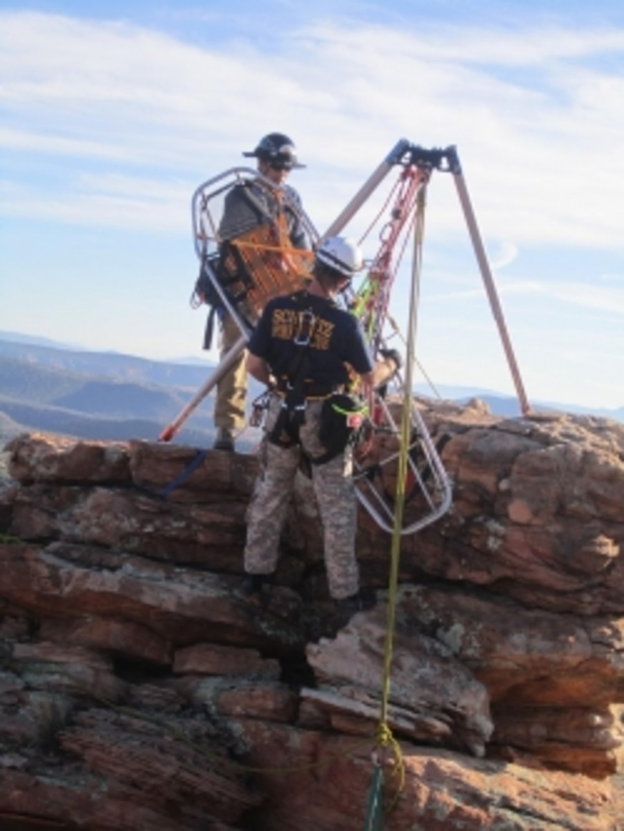 Ropes That Rescue Rigging Class in Sedona, Arizona and Other Locations