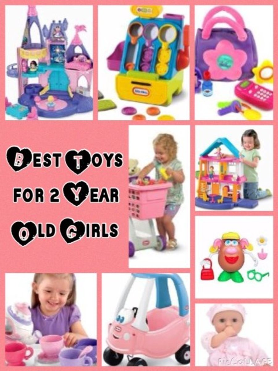 Best Toys for 2 Year Old Girls