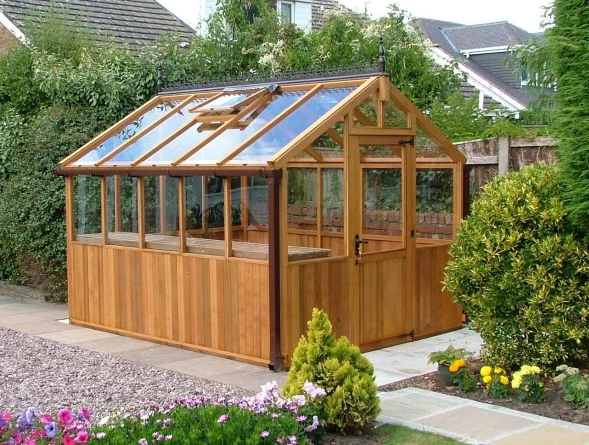 backyard greenhouse plans