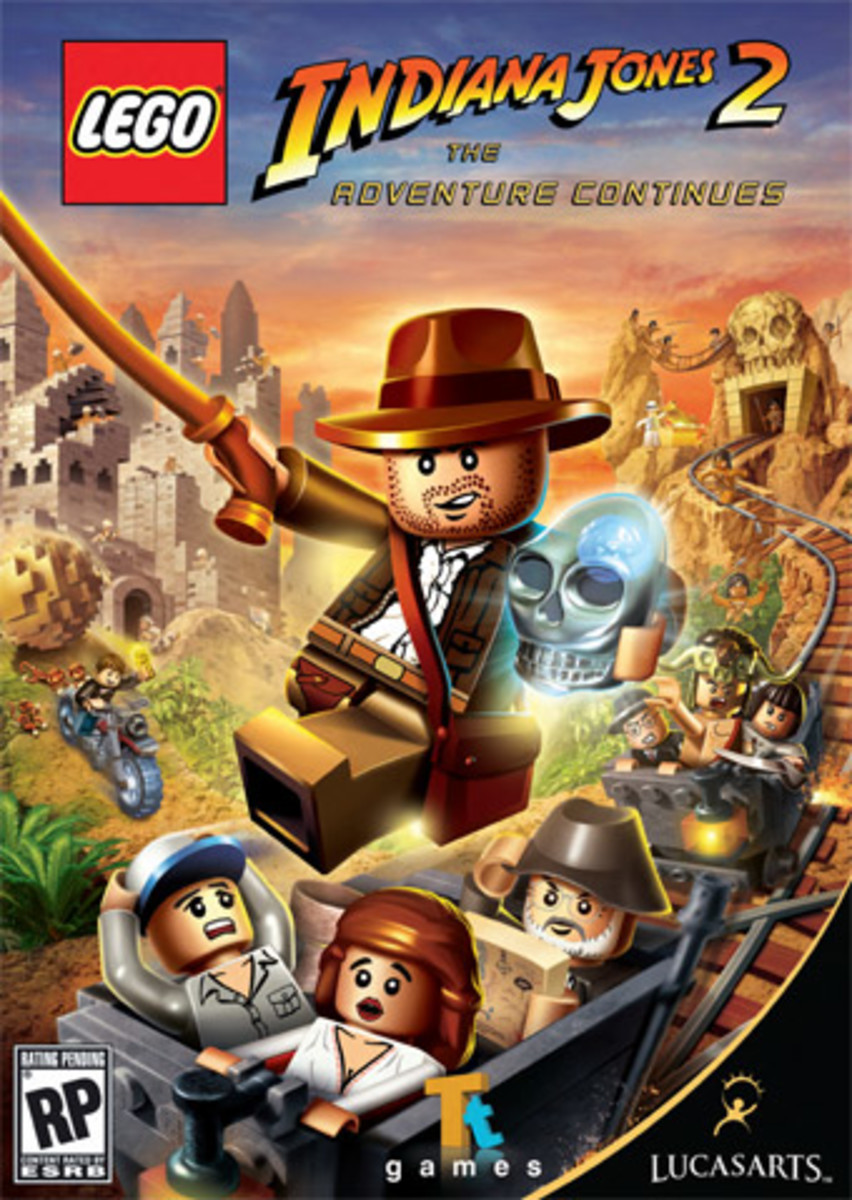 Lego Indiana Jones 2 Walkthrough 3: Kingdom of the Crystal Skull, Part 2, The First Five Levels