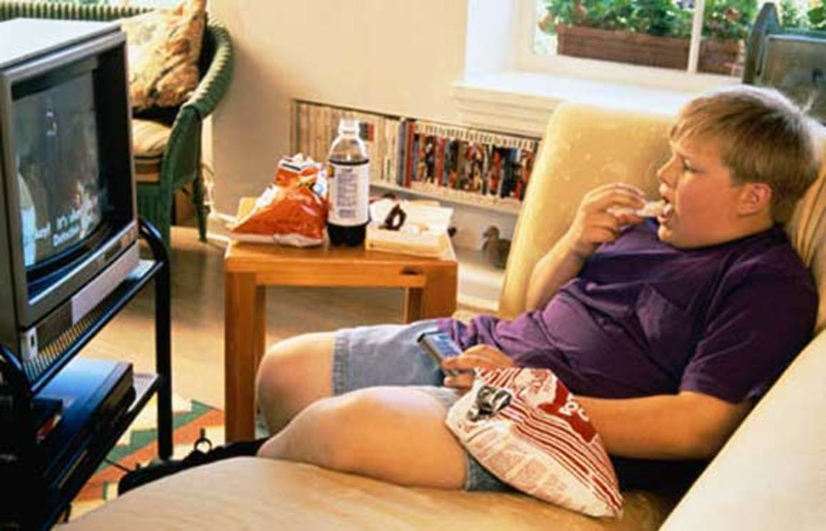 Too much TV, video games, and junk food are causing today's children to be more and more overweight. It's time to do something about it!