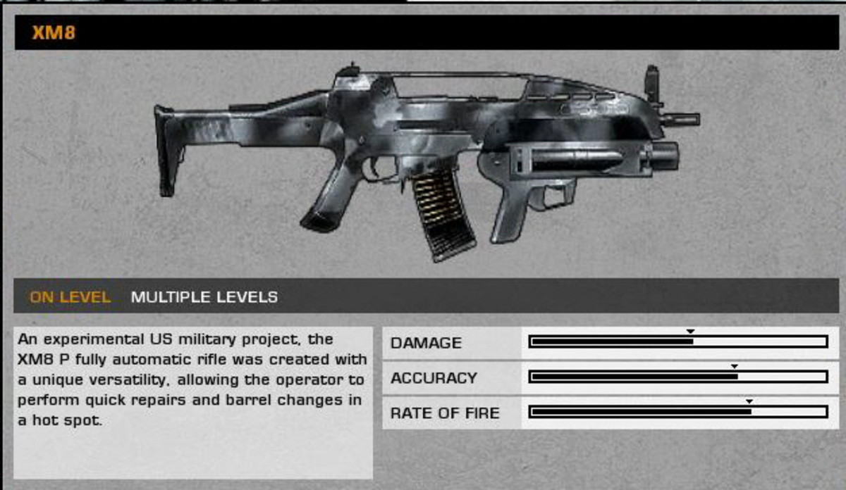 High Value Target: XM8 collectible / collectable.