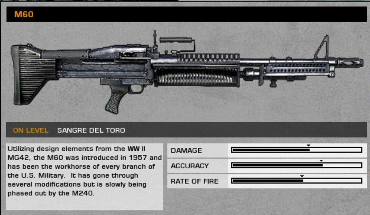 Sangre Del Toro: M60 collectible / collectable.