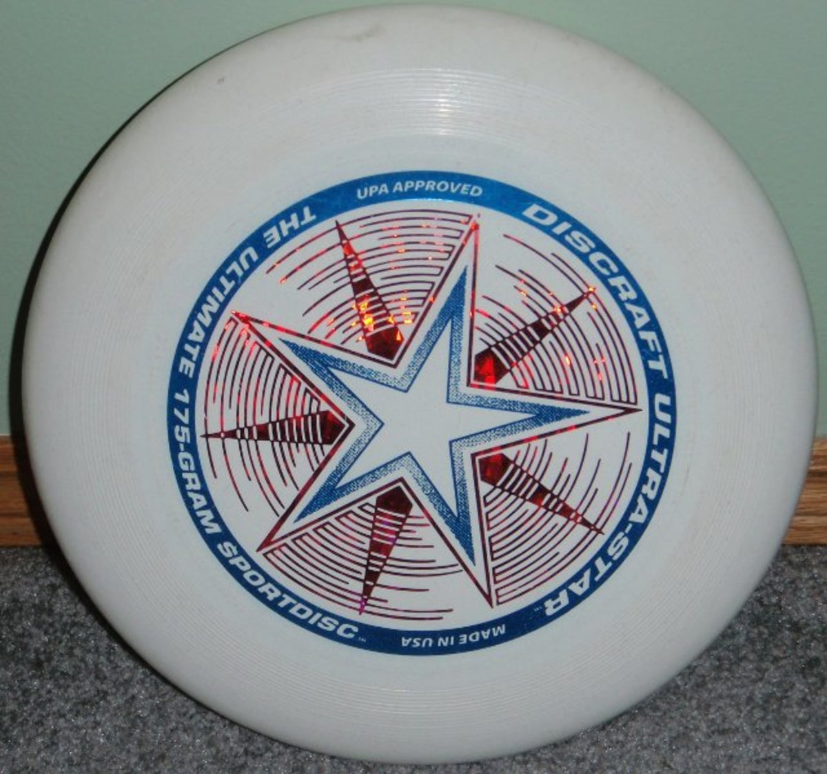 175 gram Official Ultimate Disc