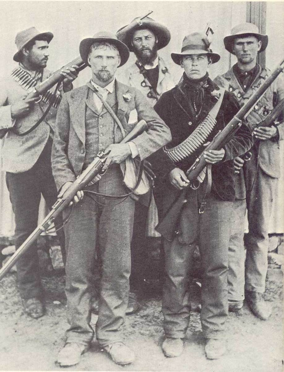 Boer guerrillas during the Second Boer War * AfrikanerCommandos * copyright expired