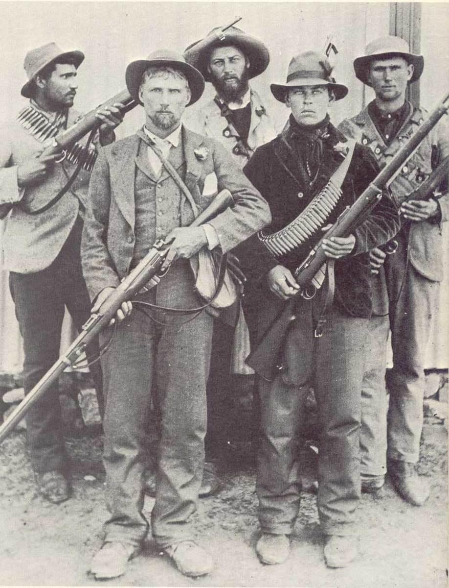 Boer guerrillas during the Second Boer War * AfrikanerCommandos * copyright expired