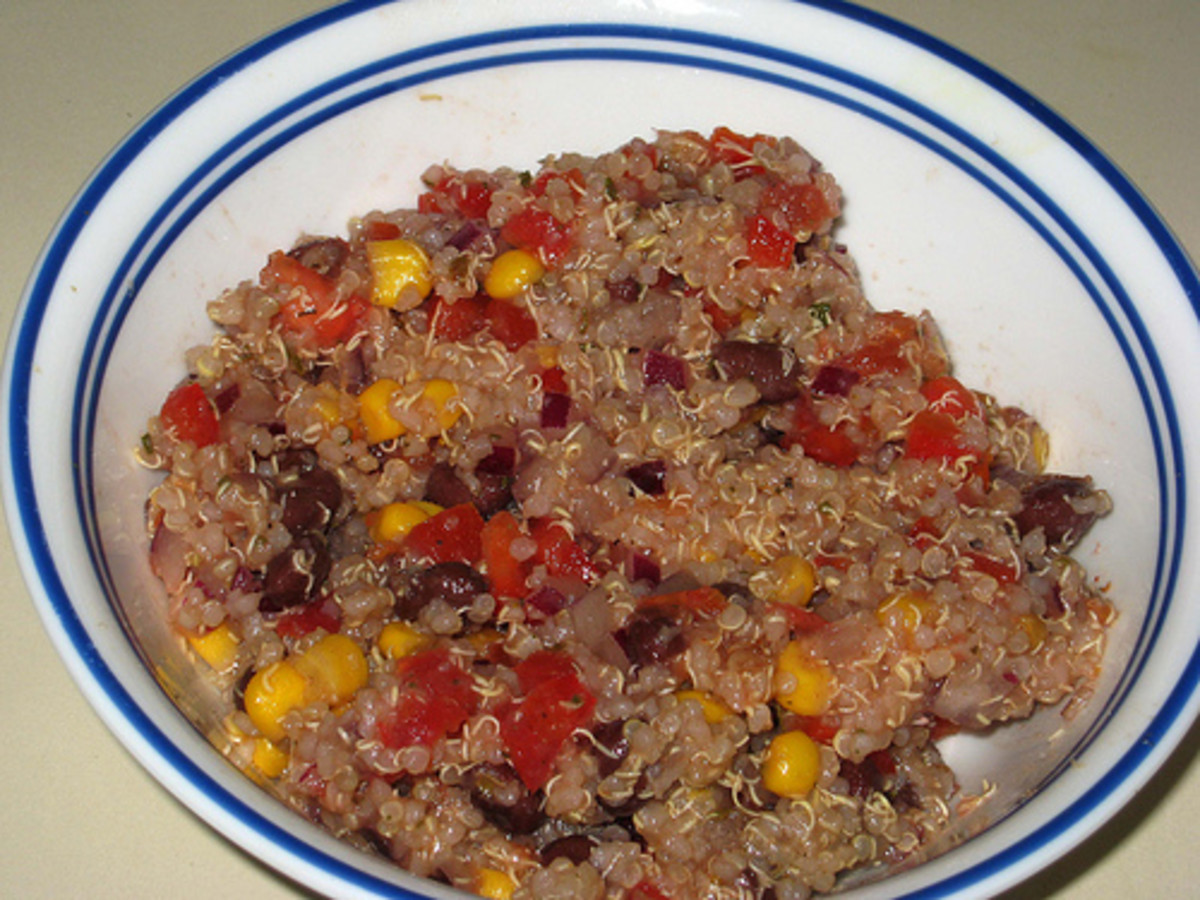 Quinoa Pepper Salad