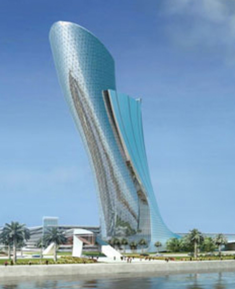 Leaning Tower at Abu Dhabi