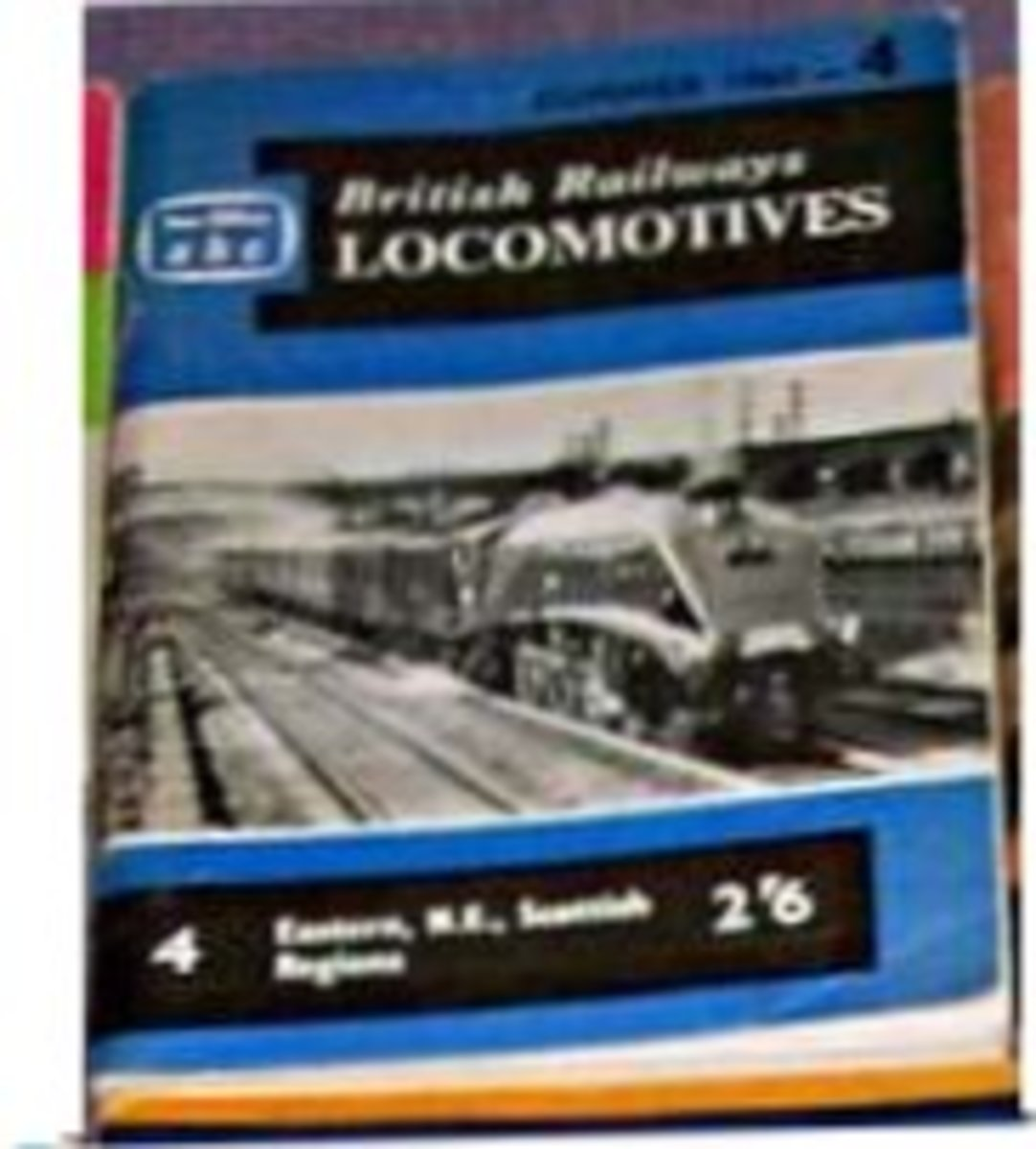 One of Ian Allan's ABC of British Railway Locomotives booklets