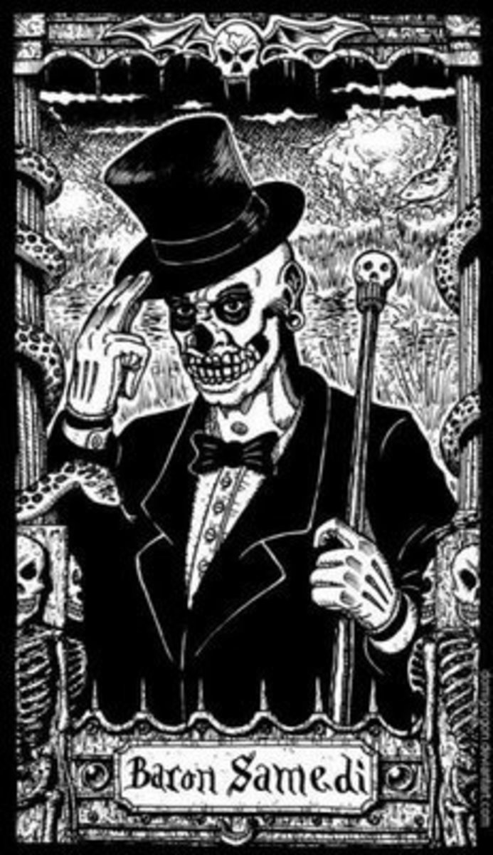 Baron Samedi- the man in the top hat