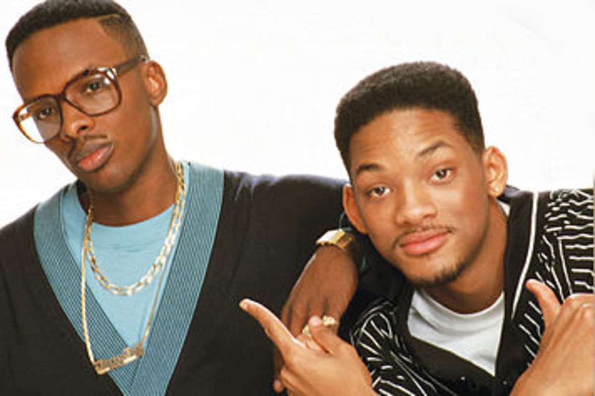 DJ Jazzy Jeff and The Fresh Prince: This is where will smith really came into the scene with his group scoring the title track for the fresh prince of bel air.