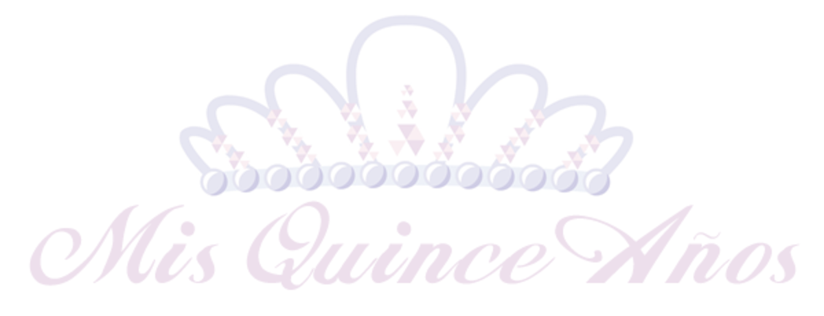 Free Mis Quince Anos tiara clip art with pink text