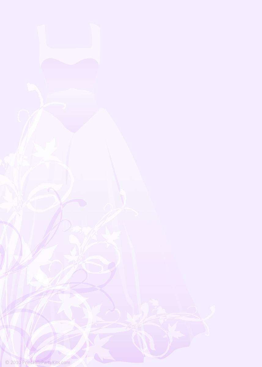 Pretty purple princess