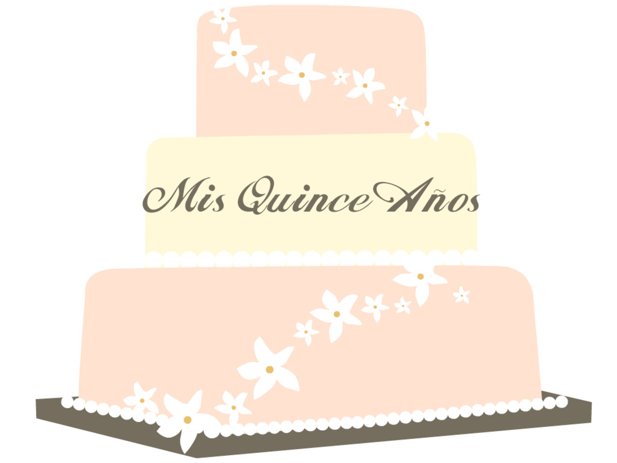 Free Mis Quince Aos cake clip art