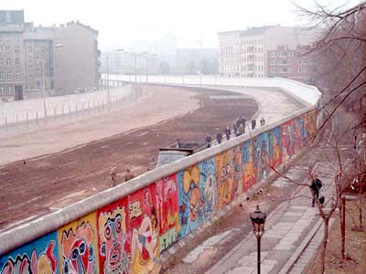 SOCIALISTS ALWAYS BUILD WALLS TO KEEP PEOPLE FROM FLEEING