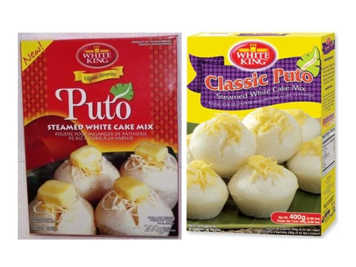 You will also find instant puto in a box in the supermarket shelves and exported and sold in many Asian Filipino stores overseas.