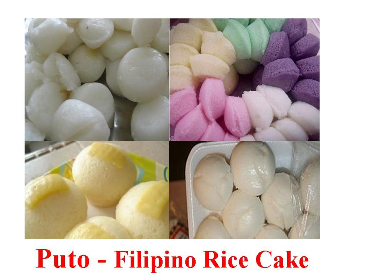 Puto - Filipino Rice Cake