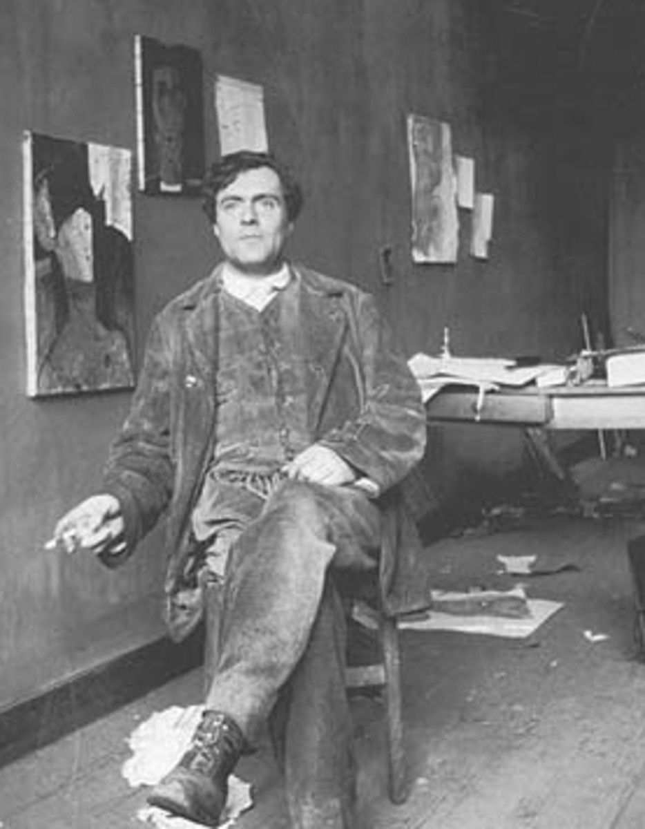 Expressionist Artist - Amedeo Modigliani