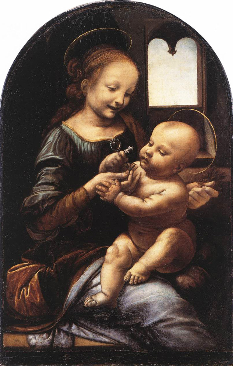 The Virgin Mother--A Happy Mom