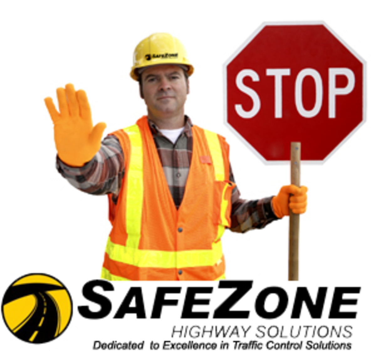 Construction Road Safety - Flaggers are Your Friend