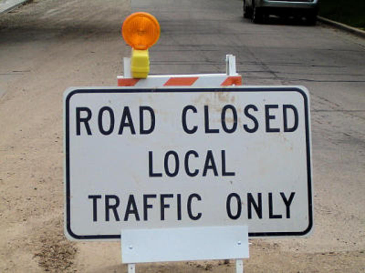 What part of this sign don't you understand? photo from www.burlington-wi.gov