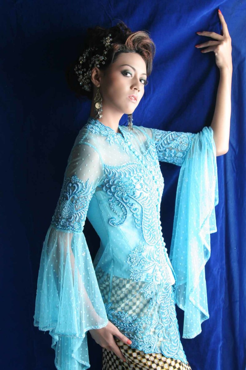 European touch in Modern Kebaya