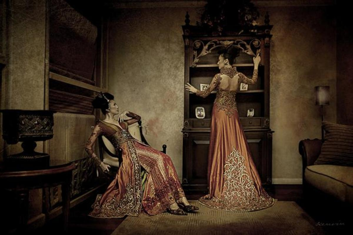 Another Haute Couture Design for Kebaya