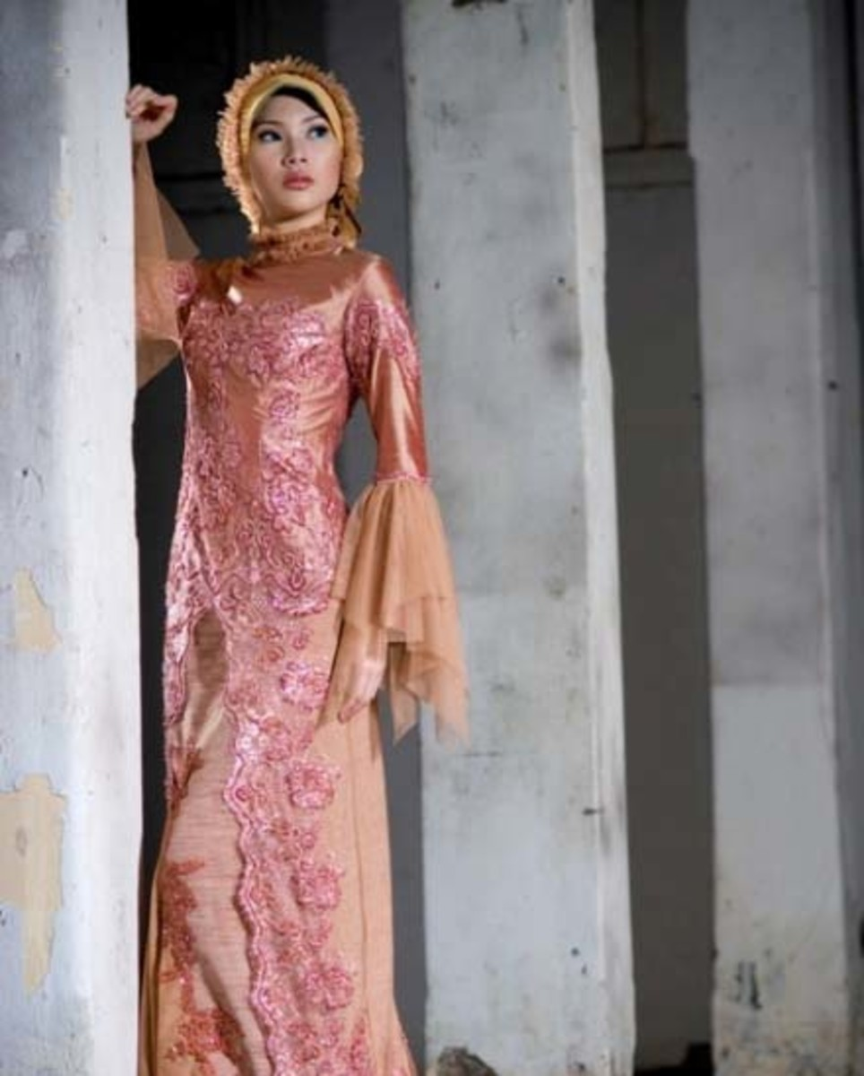 Muslim touch on Kebaya
