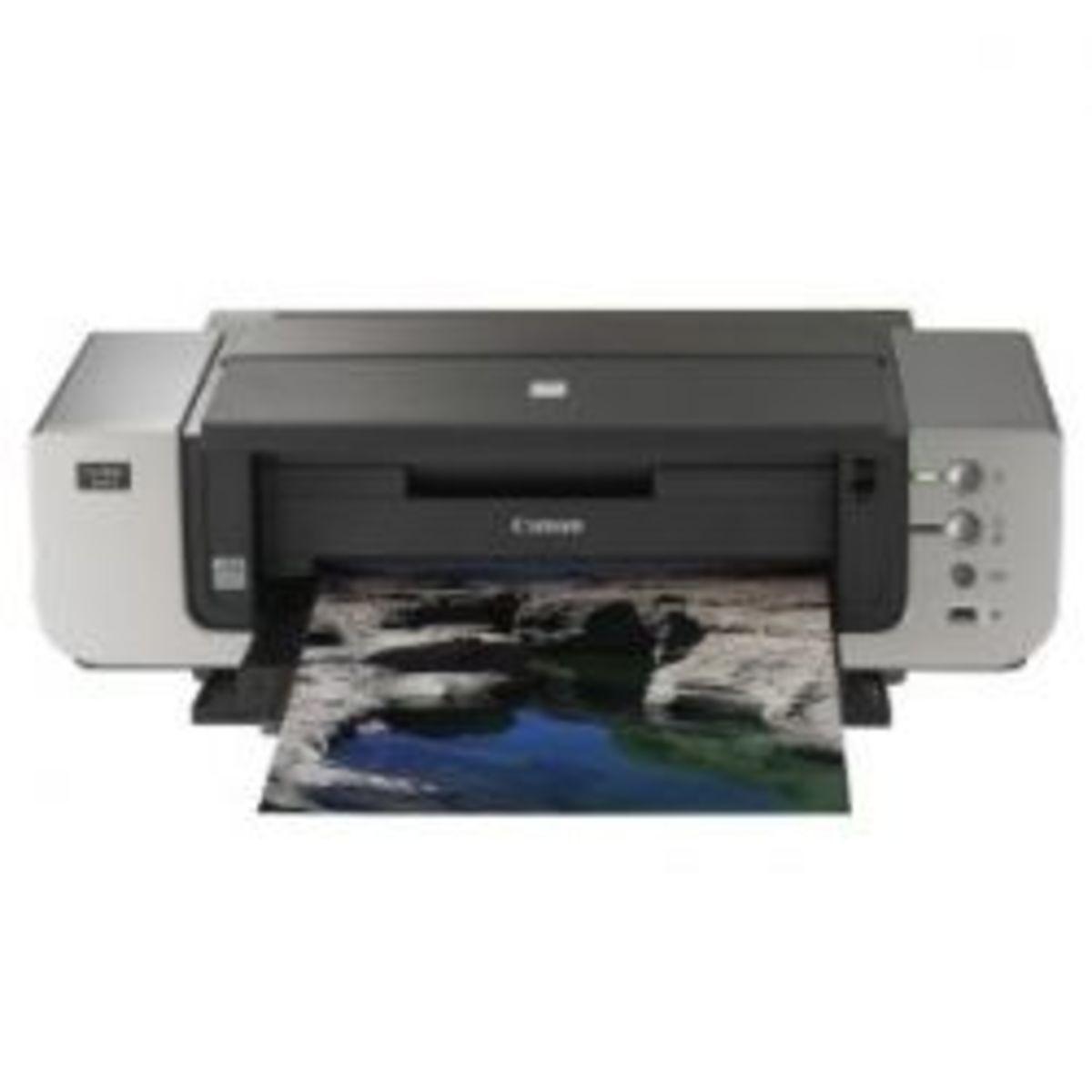 The Canon Pixma Pro 9000 Mark II Inkjet Printer