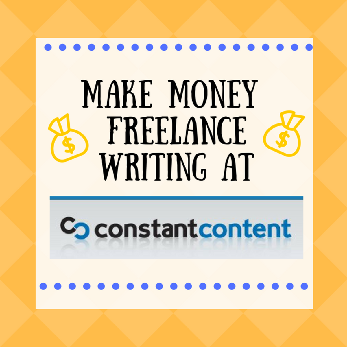 Earn Great Money Freelance Writing at Constant Content