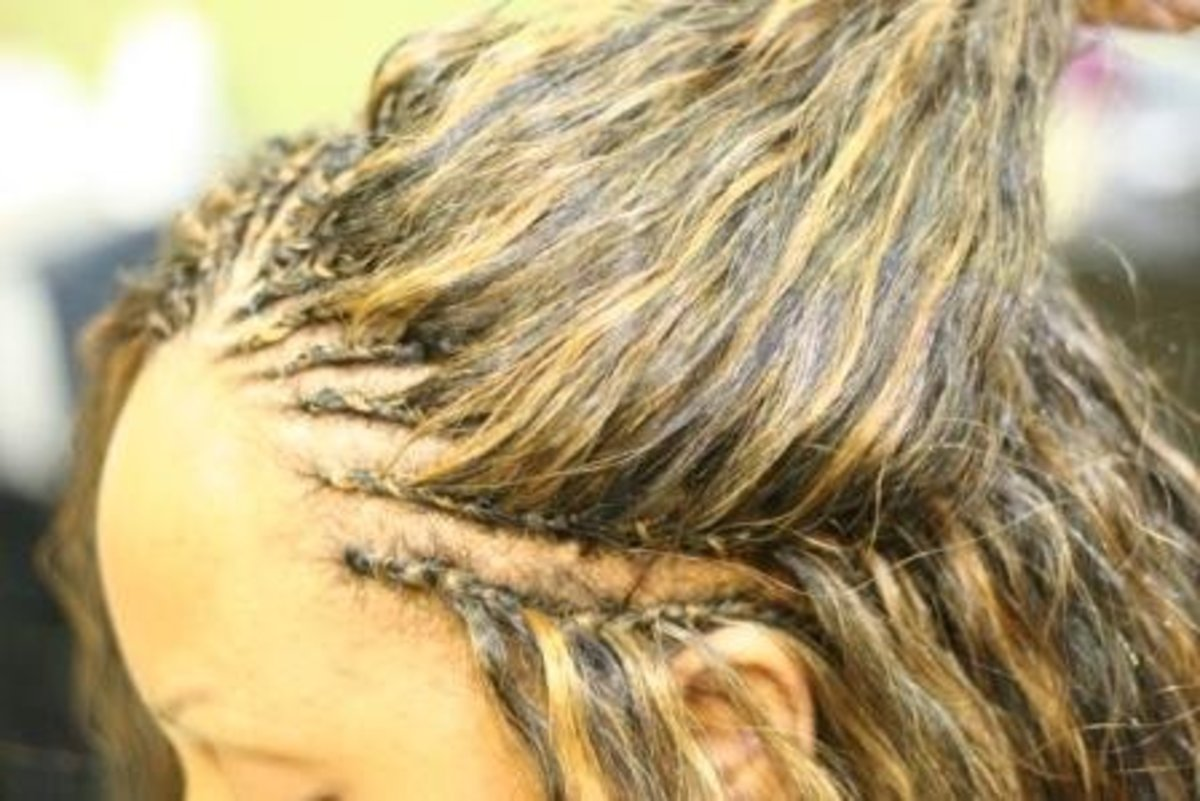 Tree braids are a great option for achieving long straight hair.