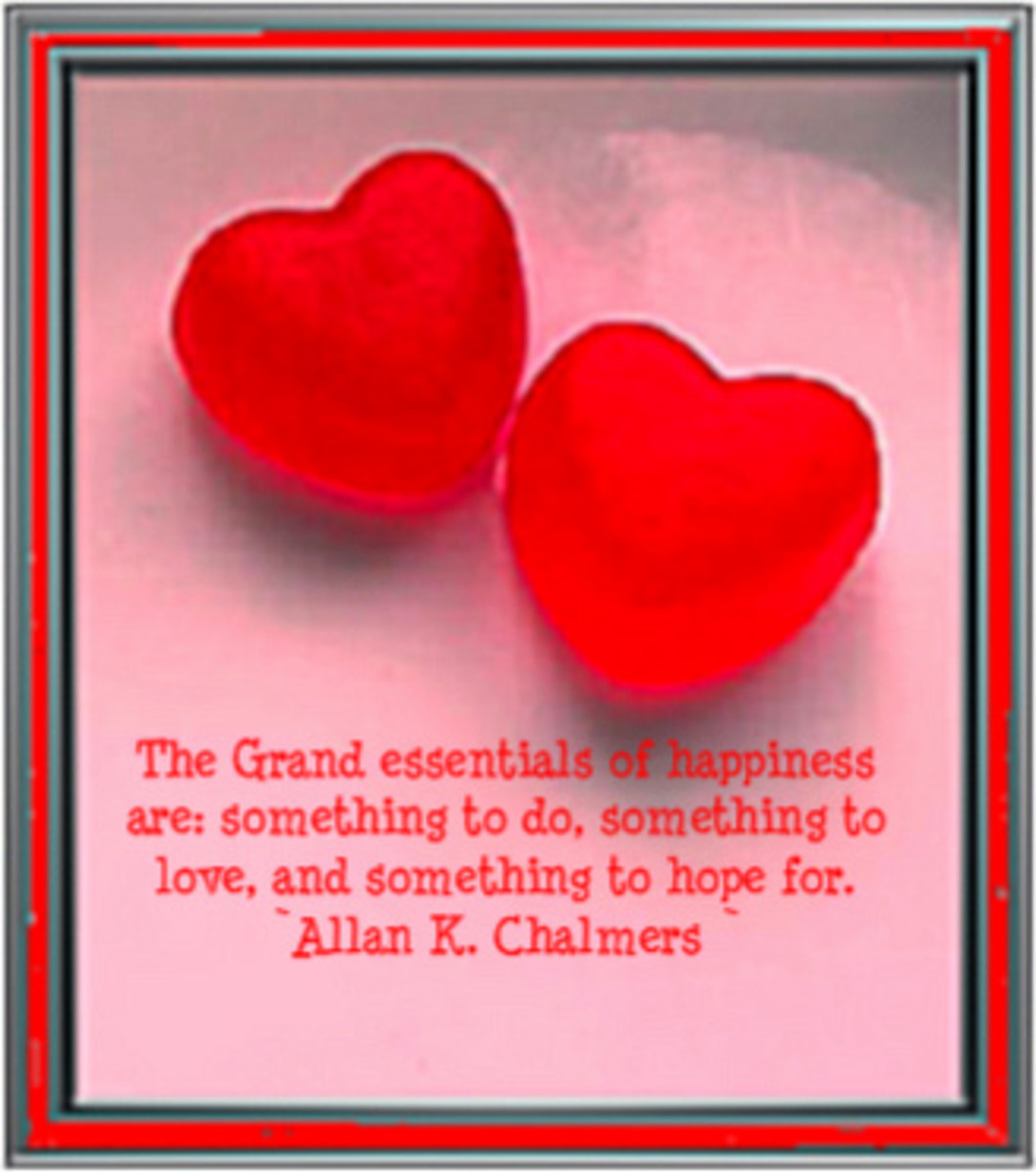 Grand Essential to Happiness