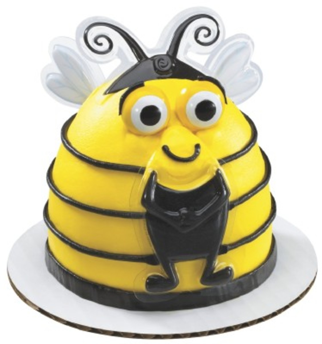Bumble Bee Themed Birthday Cakes