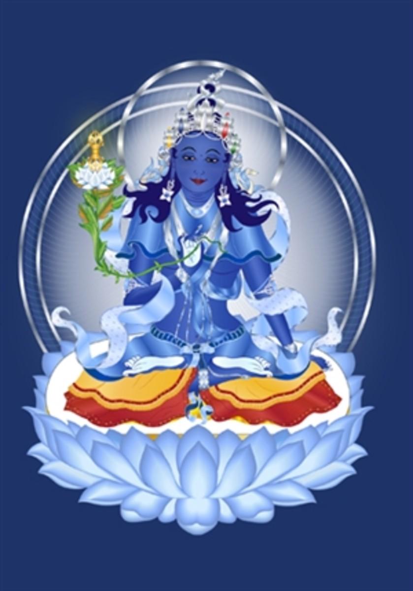 Mamaki Buddha - Consort of Ratnasambhava