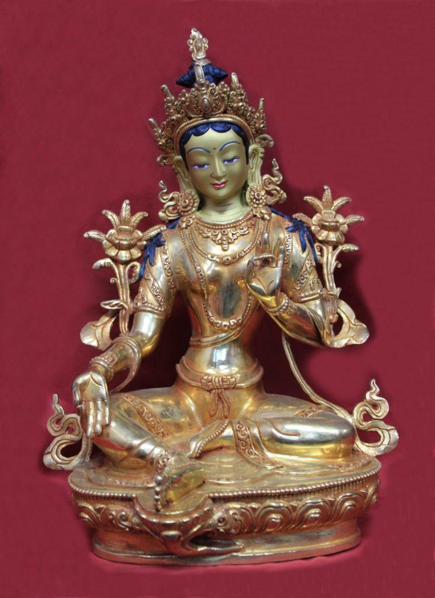 Green Tara - Consort of Akshobhya