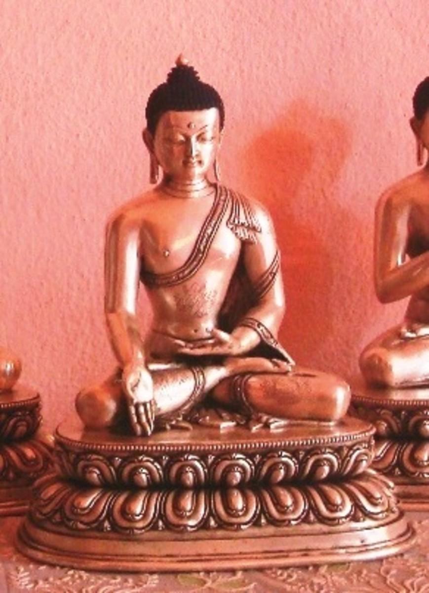 Ratnasambhava Dhayani Buddha